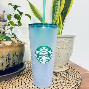 Sale!!! SB Green gradient siren cold cup 20oz